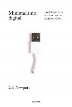 """Portada de """"Minimalismo digital"""" de Cal Newport"""